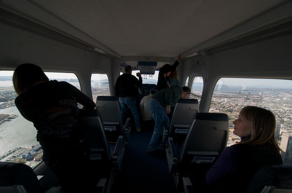 The Eureka's cabin seats 12.