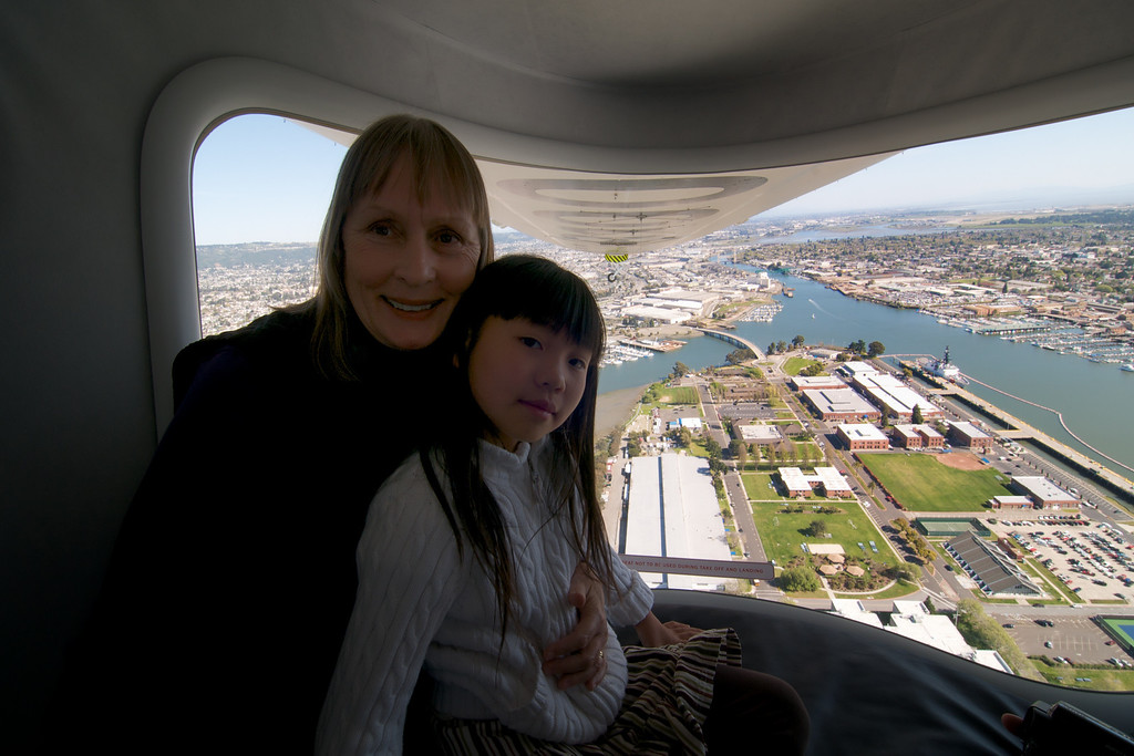 Birthday Ride on Zeppelin Eureka over SF Bay
