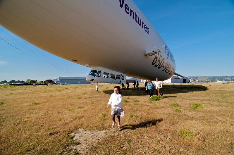 Zeppelin Eureka Birthday Ride over SF Bay