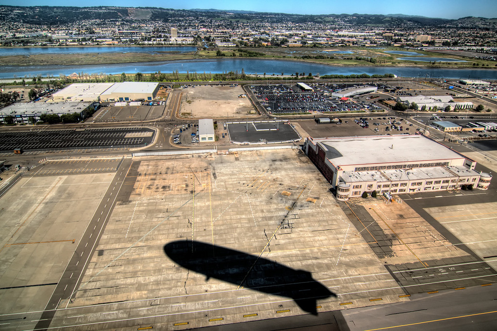 Commercial Aviation terminal, Oakland Airport.