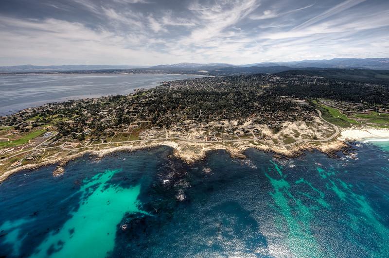 Airship Eureka over Monterey Bay