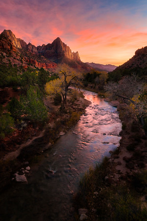 Sunset at Canyon Junction