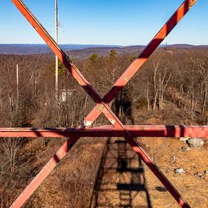 Catfish Fire Tower Cross Beams