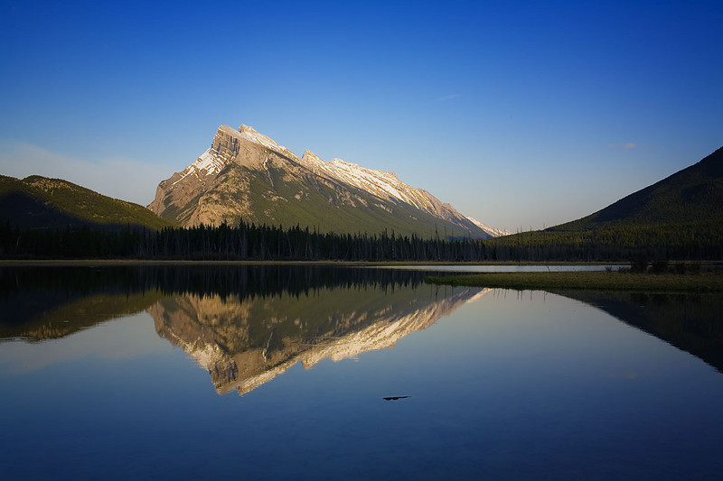 Vermillion Lake #1 - Pre Sunset - Banff WHS