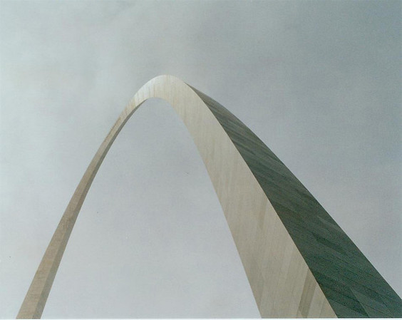 Arch, St. Louis in winter