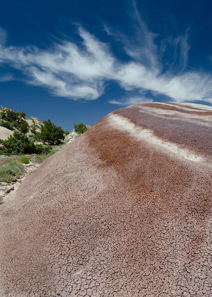 Bentonite hill