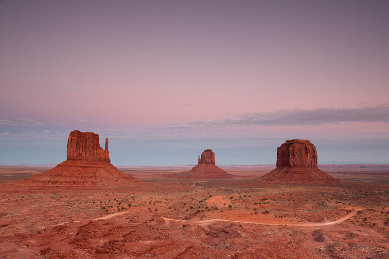 """""""The View"""" - John Wayne Point - Monument Valley"""