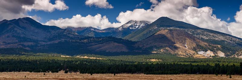 San Francisco peaks, Flagstaff, AZ