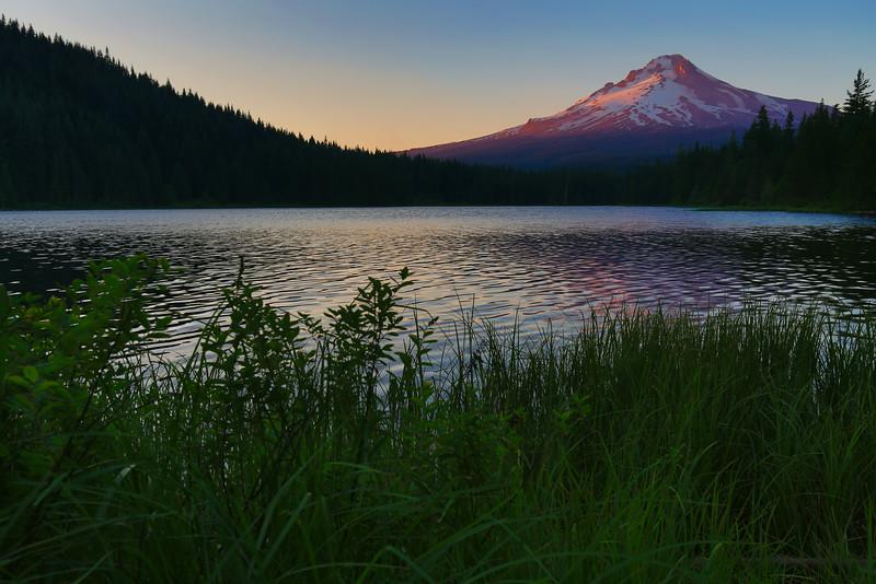 ~ Trillium Lake ~