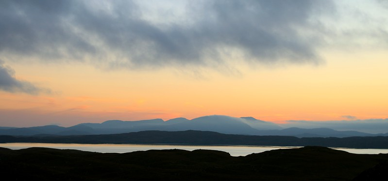 Isle of Lewis sunset.
