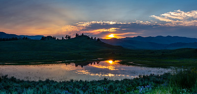 Yellowstone National Park Sunrise