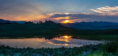 Yellowstone National Park Sunrise