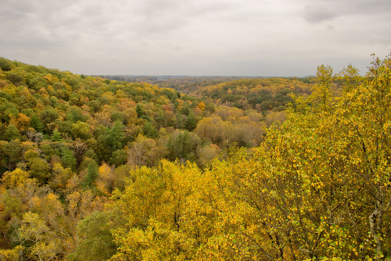 View from King and Queen Seat, Rock State Park.
