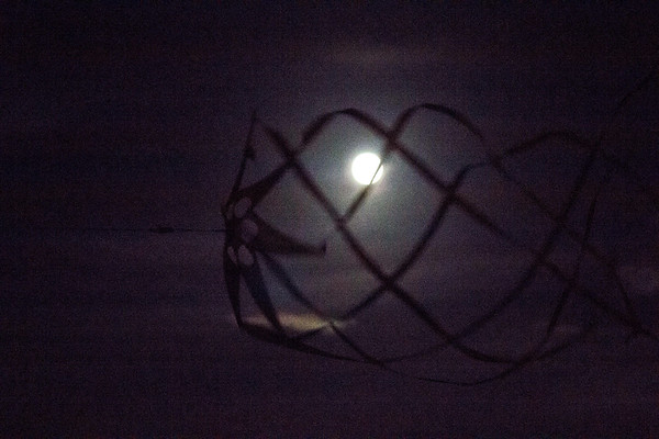 Our whirlygig in the moonlight