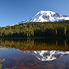 Mt. Rainier in Reflection Lake