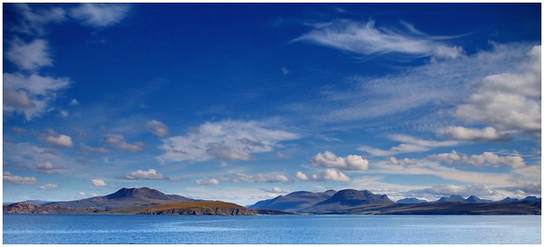 Wester Ross from the Minch