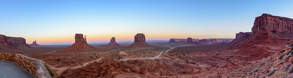The Buttes of Monument Valley