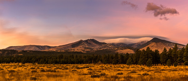 Early morning, San Francisco Peaks, Flagstaff, AZ