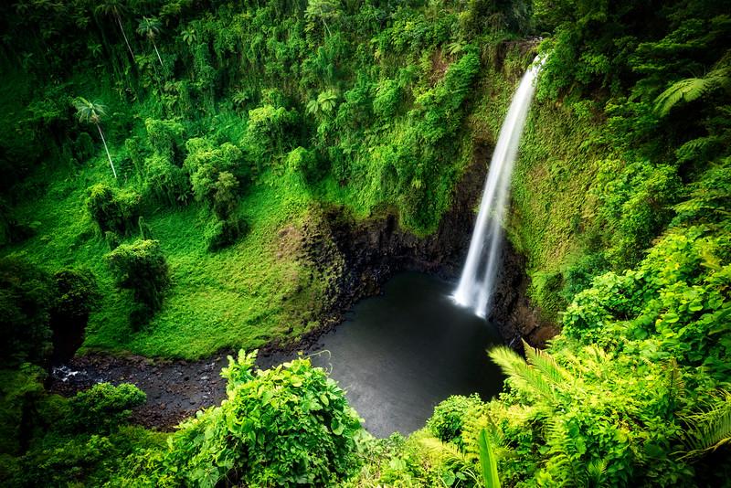 Fuipisia falls, Western Samoa
