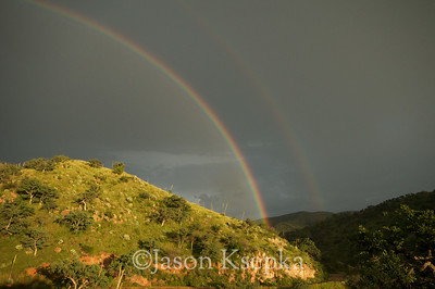 Rainbow; Ruby Road, Pima Co Arizona 8-30-08 #22