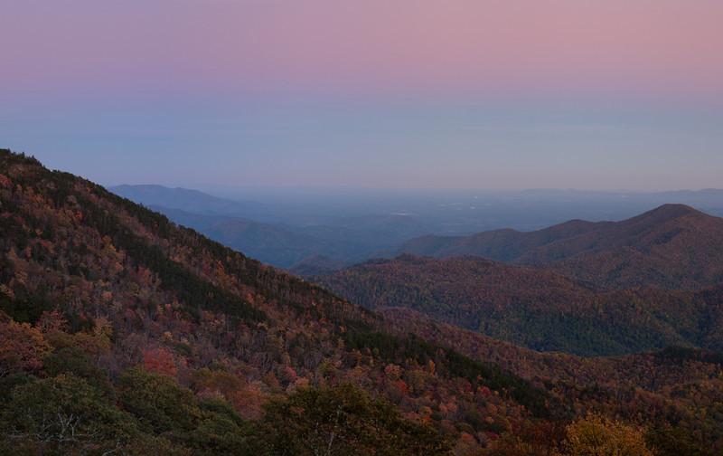 Great Smoky Mountains - Blue Ridge Parkway<br /> - North Carolina
