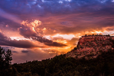 Sedona sunset.