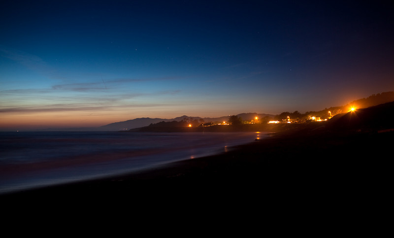 Twilight - Cambria, CA<br /> Lee 5 Stop Soft GND