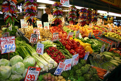 Pike's Place Market, Seattle, Washington