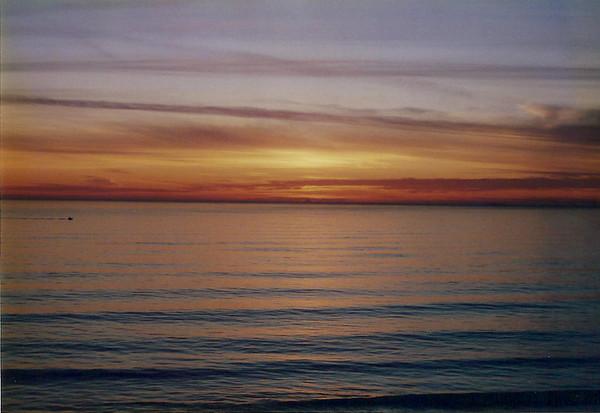 Sunset at Ocean Beach 2