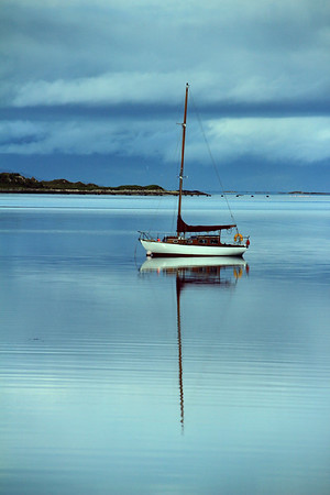 Yacht at Arisaig,