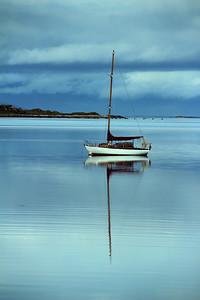 Yacht at Arisaig,