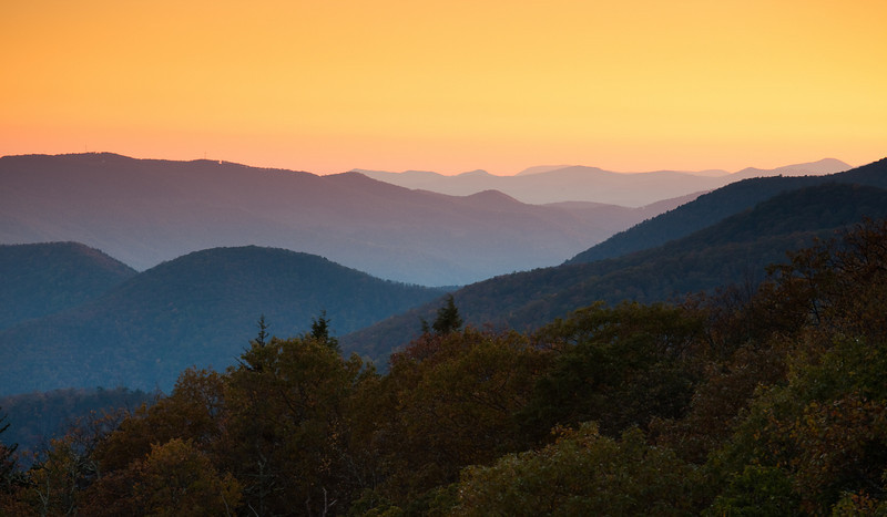Great Smoky Mountains - Blue Ridge Parkway<br />  - North Carolina
