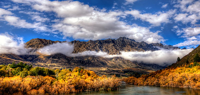 The Remarkables after Thunderstorm