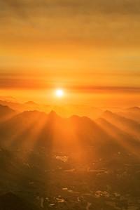 Malibu sun rays