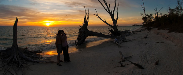 Lover's on Lover's Key. Photo taken in February 2012, Lover's Key State park, Estero Florida.