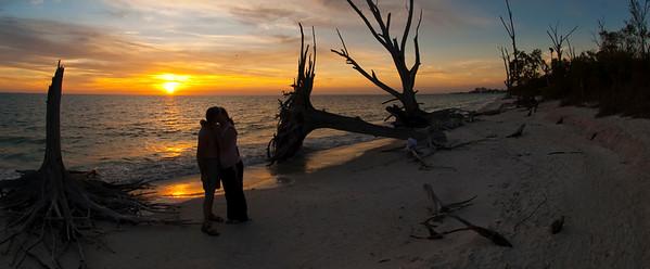 Lover's on Lover's Key. Photo taken in February 2012, Lover's Key State park, Estero Florida.