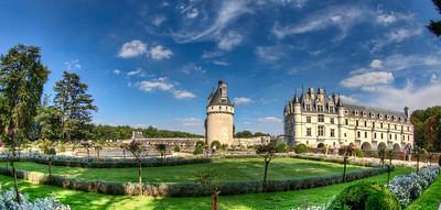 Château de Chenonceau in Summer
