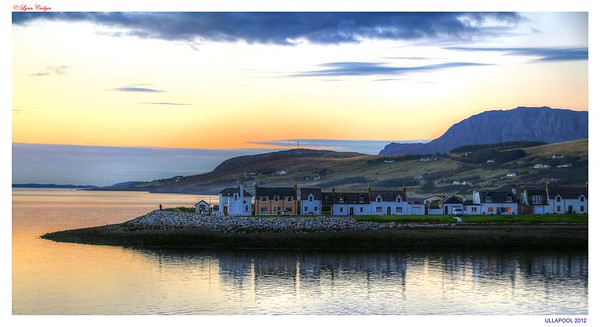 Ullapool, October Sunset