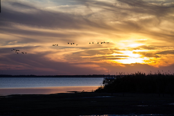 Sunset on the Sound...Outer Banks