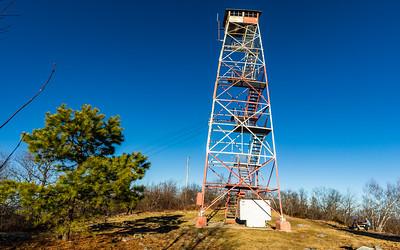 """Catfish Fire Tower """"Pano"""""""