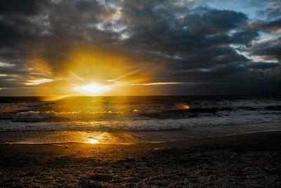 Bonita Beach Sunset. Photo taken in November 2009, Bonita Springs Florida.