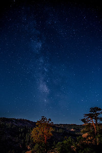 Canaan Mountain Milky Way