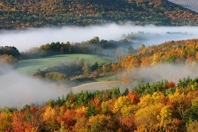 Fall foliage, Richmond, Vermont