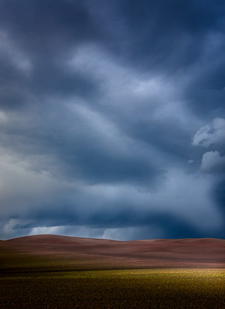 storm over the palouse