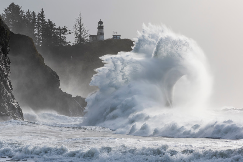 Cape Disappointment King Wave