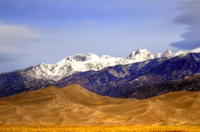 Mt Heard at the Great Sand Dunes