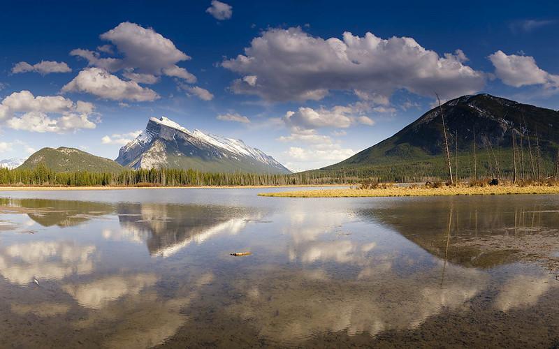 Vermillion Lake #1 - Golden Hour - Banff NP<br /> - Lee 3 Stop Soft GND