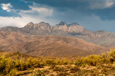 "The ""Four Peaks"" - northeast of Phoenix, AZ"