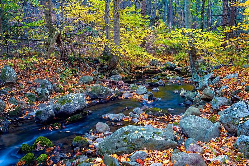 Hazel River - Shenandoah National Park<br /> - Photomatix HDR - Singh-Ray LB Color Combo