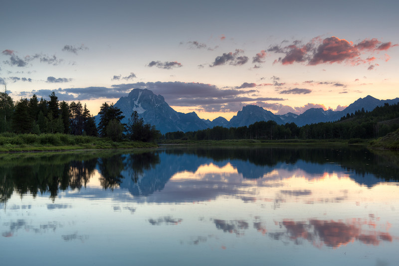 Oxbow Bend - Grand Tetons<br /> Zeiss 50/f2.0 Lee .9 Soft GND